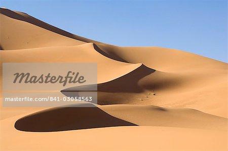 Erg Awbari, Sahara desert, Fezzan (Libye), l'Afrique du Nord, Afrique