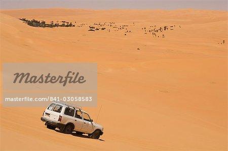 Erg Awbari, Sahara desert, Fezzan, Libya, North Africa, Africa