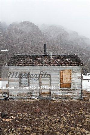 Aufgegeben von RCMP Post und Postamt, Craig Harbour, Ellesmere-Insel, Nunavut, Kanada