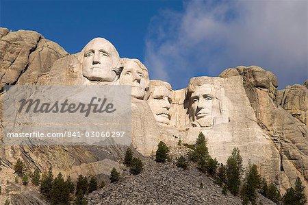 Mont Rushmore, Keystone, Black Hills, Dakota du Sud, États-Unis d'Amérique, l'Amérique du Nord