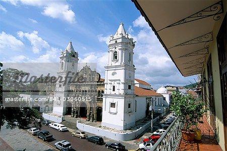 Cathédrale de la vieille ville, quartier de San Felipe, Panama City, Panama amerique centrale
