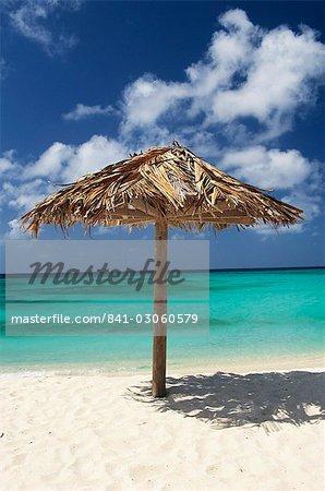 Plage d'Arashi, Aruba, West Indies, Antilles néerlandaises, l'Amérique centrale