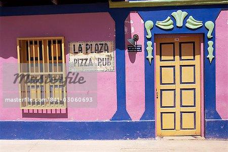 La Plaza Pizza Pub, El Gran Roque, Los Roques, Venezuela, Südamerika