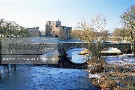 Château de Brougham, Eamont, Eden Valley, Cumbria, Angleterre, Royaume-Uni, Europe