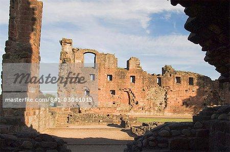 Château de Penrith, Eden Valley, Cumbria, Angleterre, Royaume-Uni, Europe