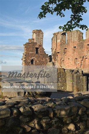 Penrith Castle, Eden Valley, Cumbria, England, United Kingdom, Europe