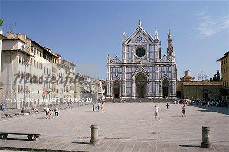 Chiesa di Santa Croce, Florence, Tuscany, Italy, Europe