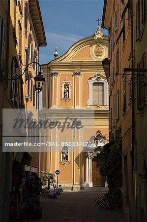 The church, the old town, Riva del Garda, Lake Garda, Trentino-Alto Adige, Italy, Europe