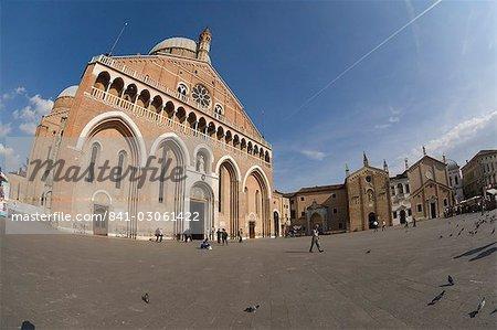 Basilica di Sant Antonio, Piazza del Santo, Padua, Veneto, Italy, Europe