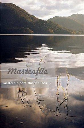 Lake Ullswater, Parc National de Lake District, Cumbria, Angleterre, Royaume-Uni, Europe