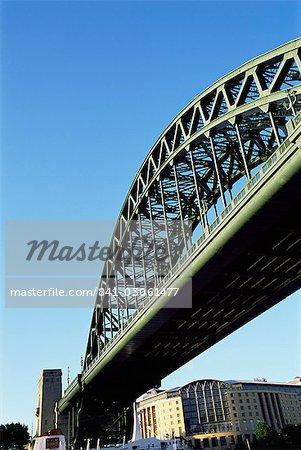 Pont de la Tyne, Newcastle upon Tyne, Tyne et Wear, Angleterre, Royaume-Uni, Europe