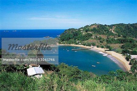 Parlatuvier Bay, Tobago, West Indies, Caribbean, Central America