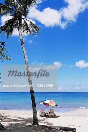 Chac beach, near Castries, St. Lucia, Windward Islands, West Indies, Caribbean, Central America