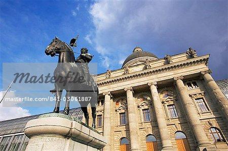 Le nouveau Staatskanzlei (Chancellerie d'Etat), Munich, Bavière, Allemagne, Europe