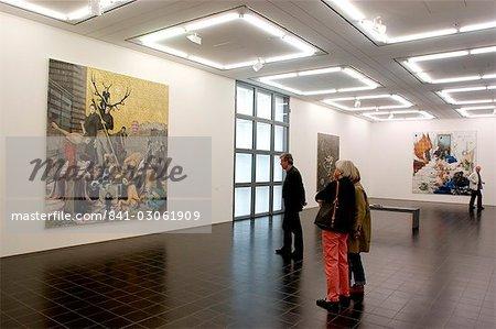 Hamburger Kunsthalle, l'un des meilleures musées d'art dans le pays, Hambourg, Allemagne, Europe
