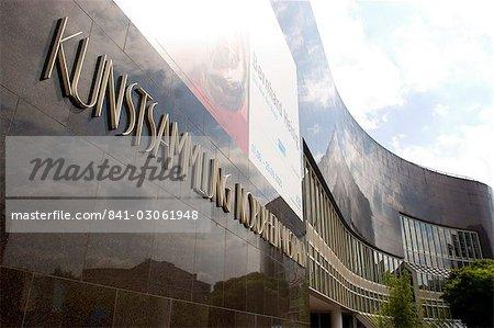 The K20 Kunstsammlung am Grabbeplatz art museum, Dusseldorf, North Rhine Westphalia, Germany, Europe