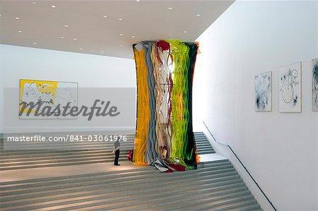 Plus grande Musée Pinakothek Der Moderne, de l'Allemagne d'art moderne, Munich, Bavière, Allemagne, Europe