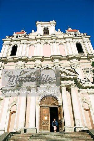 St. Casimir, la plus ancienne église baroque de la ville, Didzioji Gatve, pays baltes, Vilnius, Lituanie, Europe