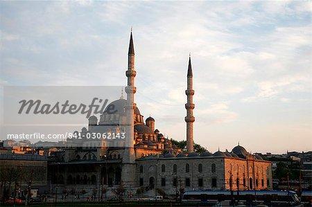La mosquée Yeni Camii également connu sous le nom la nouvelle mosquée, Istanbul, Turquie, Europe