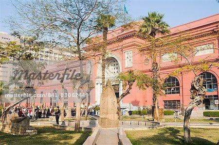 Le Musée des antiquités égyptiennes, le Caire, en Égypte, en Afrique du Nord, Afrique