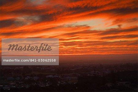 Coucher de soleil, Evans Head, New South Wales, Australie et Pacifique