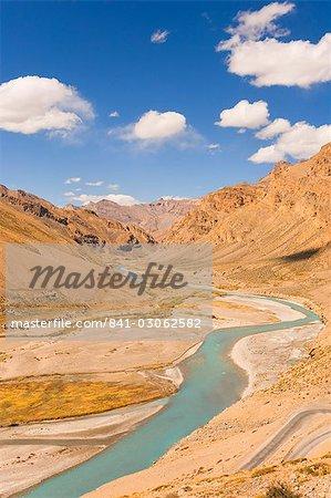 Zanskar River, Ladakh, Indian Himalayas, India, Asia