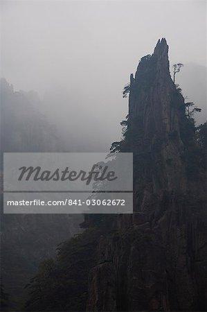 Vallée de Xihai (ouest de la mer), Mont Huangshan (Yellow Mountain), UNESCO World Heritage Site, Anhui Province, Chine, Asie