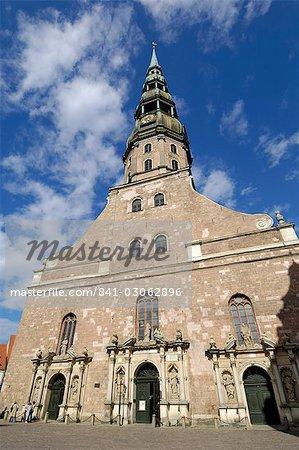 Église de Saint Pierre, Riga, Lettonie, pays baltes, Europe