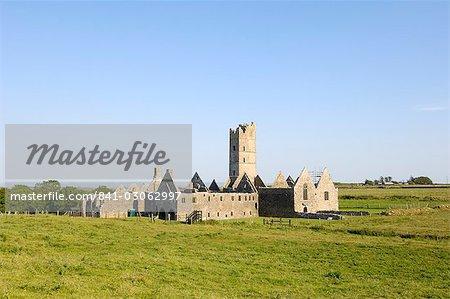 Couvent de Moyne, près de Killala, comté de Mayo, Connacht, Irlande, Europe