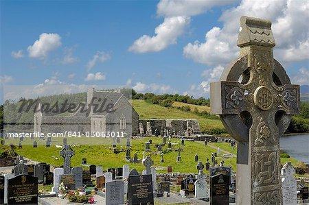 Burrishoole Abbey, près de Newport, comté de Mayo, Connacht, Irlande, Europe