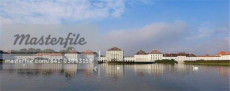 Schloss Nymphenburg, Munich, Bavière (Bayern), Allemagne, Europe