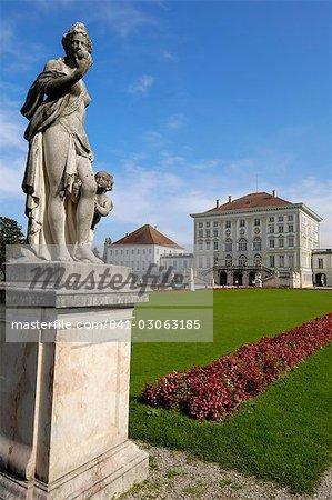 Schloss Nymphenburg, Munich (München), Bavière (Bayern), Allemagne, Europe