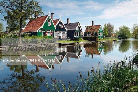 Zaanse Schans, Zaandam near Amsterdam, Holland, The Netherlands