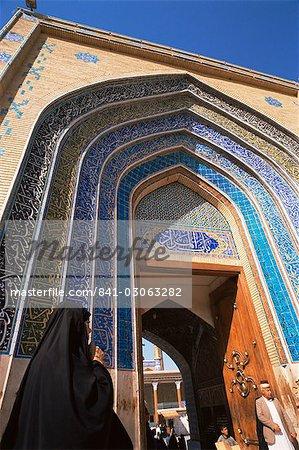 Mosquée de Kadoumia, Bagdad, Irak, Moyen-Orient