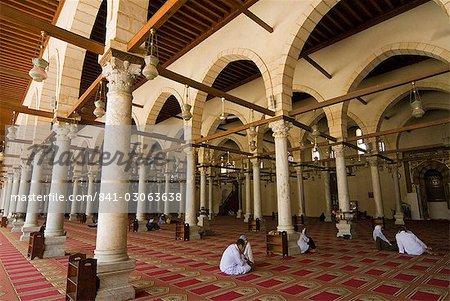 Ibn El comme mosquée, au Caire, en Égypte, en Afrique du Nord, Afrique