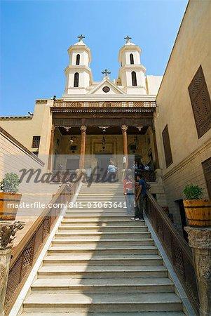 Hanging Church, Coptic Cairo, Cairo, Egypt, North Africa, Africa