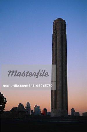 Liberty Memorial, Kansas City, Missouri, États-Unis d'Amérique, l'Amérique du Nord