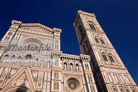 Facade of the Duomo Santa Maria del Fiore, Florence, UNESCO World Heritage Site, Tuscany, Italy, Europe