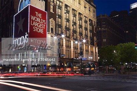 Magasin Macy dans Midtown Manhattan, New York City, New York, États-Unis d'Amérique, l'Amérique du Nord