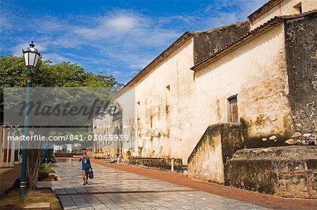 La ville de Asuncion cathédrale, Isla Margarita, état de Nueva Esparta, Venezuela, Amérique du Sud