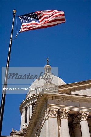 State Capitol Building, Oklahoma City, Oklahoma, États-Unis d'Amérique, l'Amérique du Nord