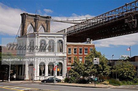 Fulton Historic District and Brooklyn Bridge, Brooklyn, New York City, New York, United States of America, North America