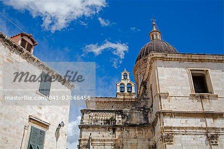 La cathédrale, Dubrovnik, Dalmatie, Croatie, Europe