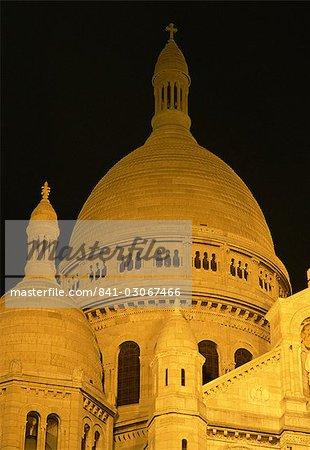 Le dôme de la Basilique du Sacré-Coeur, Montmartre, Paris, France, Europe