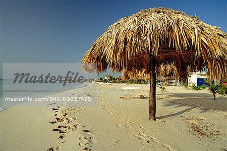 Playa del Carmen, péninsule des Caraïbes, au Mexique, l'Amérique centrale