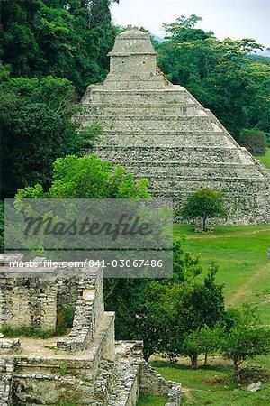 Temple des Inscriptions (Maya), Palenque, Mexique Amerique centrale