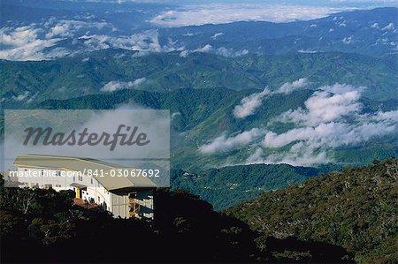 Laban Rata Resthouse, a stop for climbers on Mount Kinabalu, Sabah, Malaysia, Southeast Asia, Asia