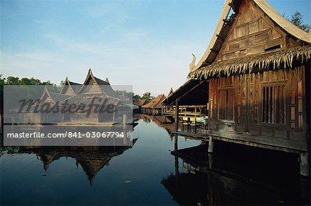 Muang Borang (vieille ville), près de Bangkok, Thaïlande, Asie du sud-est, Asie