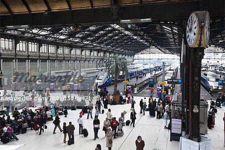 Gare de Lyon Train Station, Paris, France