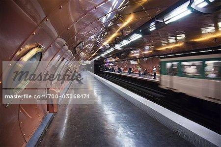 Arts et Metiers Station, Paris, France